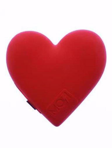 صورة موجي باور بطارية  بسعة 2600 مللي أمبير قلب - أحمر