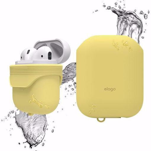 صورة إيلاقو كفر ضد الماء للإيربودز - أصفر