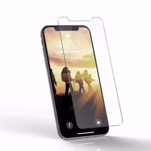 صورة يو أي جي حماية شاشه للأيفون إكس أر - شفاف