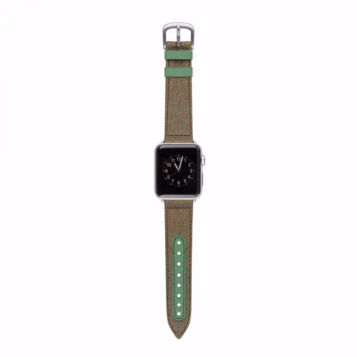 Picture of Evutec Northill Band For Apple Watch 42/44MM - Chroma Sage