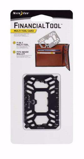 صورة نايت أيز بطاقة أدوات ستيل متعددة الأغراض - أسود