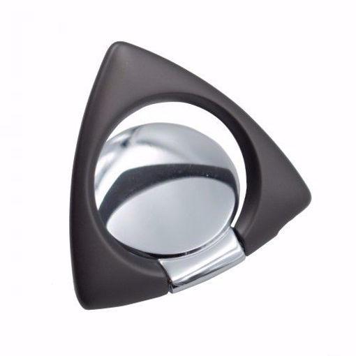 صورة رينج سبنر مسكة رينج المثلثة للهاتف - رمادي