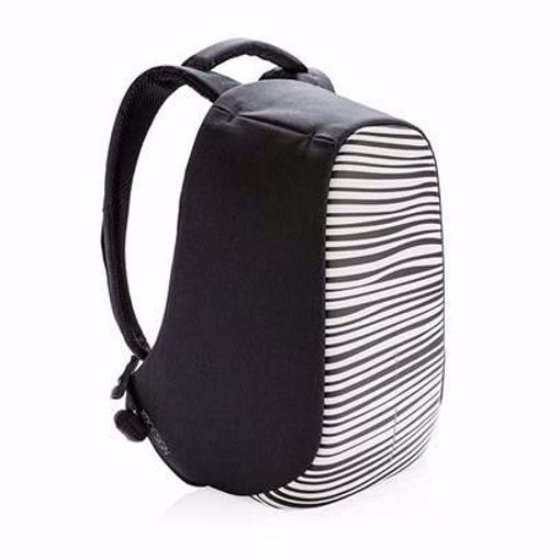 صورة إكس دي ديزاين بوبي كومباكت حقيبة ظهر ضد السرقه - أسود/أبيض