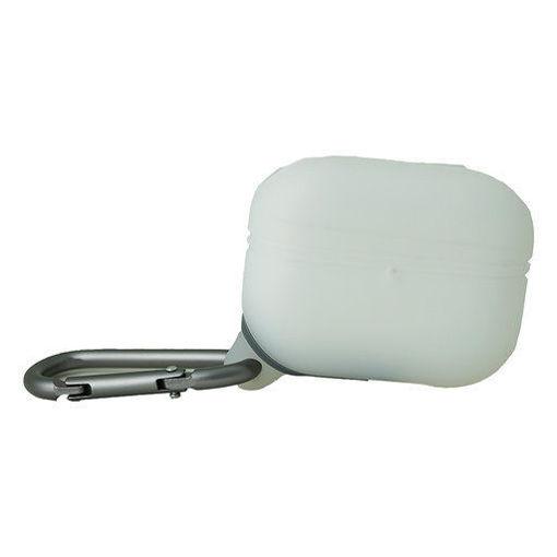 صورة تي جي في أي إس كفر حماية سيلكون للأيربودز برو - أبيض/شفاف