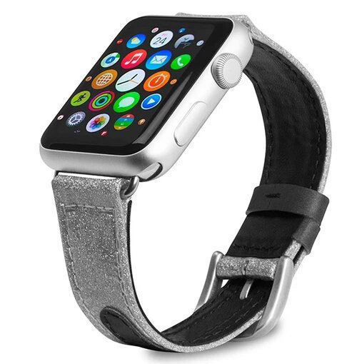 Picture of Evutec Reflective Sport Band for Apple Watch 42/44MM - Starlight