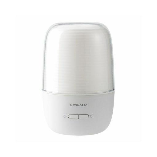 صورة موماكس جهاز معطر للجو مع إضاءة - أبيض