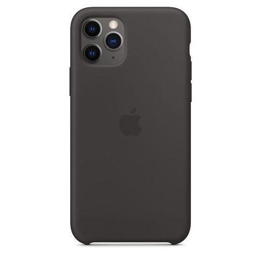 صورة أبل كفر سيليكون للأيفون 11 برو - أسود
