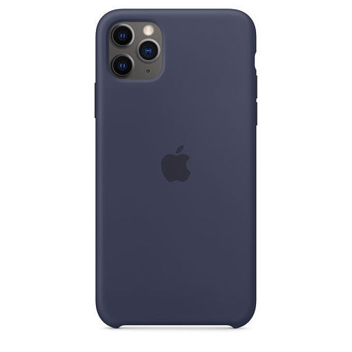 Picture of Apple iPhone 11 Pro Max Silicone Case - Midnight Blue