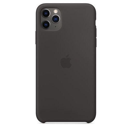صورة أبل كفر سيليكون للأيفون 11 برو ماكس - أسود