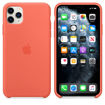 Picture of Apple iPhone 11 Pro Max Silicone Case - Clementine Orange