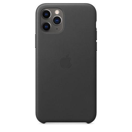 صورة أبل كفر جلد للأيفون 11 برو - أسود