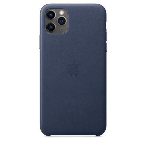 صورة أبل كفر جلد للأيفون 11 برو ماكس - أزرق