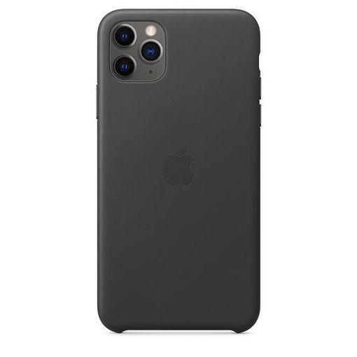 صورة أبل كفر جلد للأيفون 11 برو ماكس - أسود