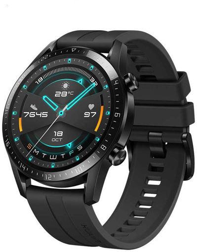 صورة هواوي  ساعة ذكية جي تي 2 46 مم  أندرويد - أسود