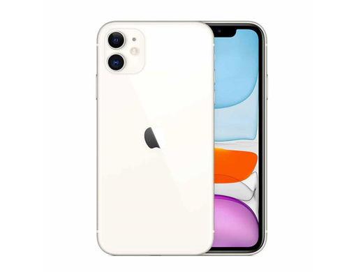 صورة  أبل أيفون 11 128 جيجا نسخة عالمية - أبيض