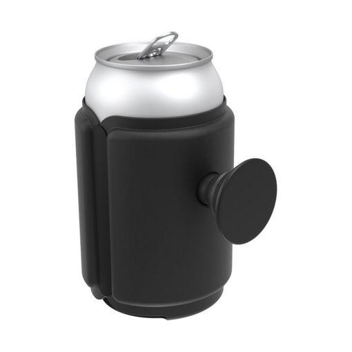 صورة بوب سوكيت  مسكة وحامل لعلب المشروبات - أسود