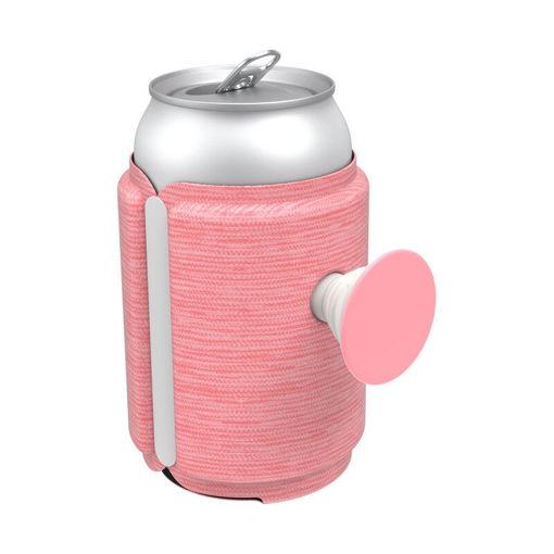صورة بوب سوكيت  مسكة وحامل لعلب المشروبات - وردي