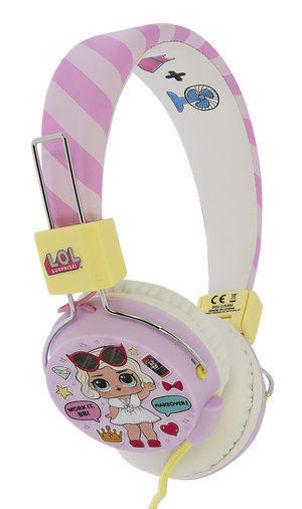 صورة أو تي إل سماعة رأس سلكية للأطفال - وردي