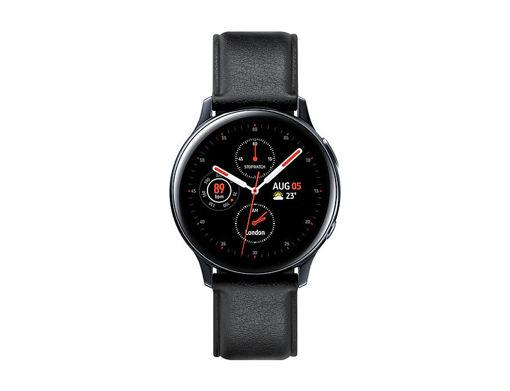 صورة سامسونج  ساعة جلاكسي أكتيف 2 44 مم ستانليس ستيل - أسود