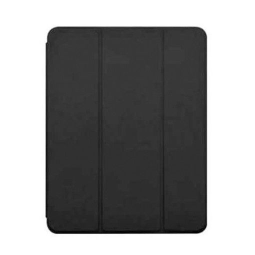 صورة ديفيا حقيبة جلدية مع فتحة قلم لآيباد إير (2019) - أسود