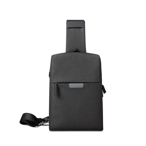 صورة وي وو  حقيبة كتف أوديسي ضد الماء - أسود