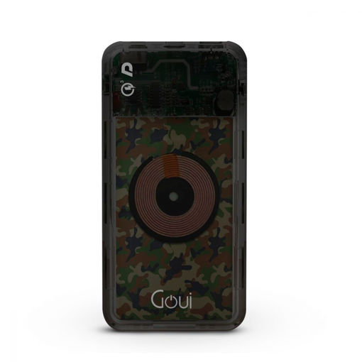 Picture of Goui  RIX 10000mAh WIRELESS Power Bank + PD + QC3.0 - Green camouflage