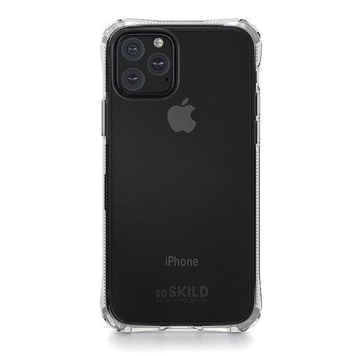 صورة سو سكيلد كفر للأيفون 11 برو ماكس مع حماية للشاشة - شفاف