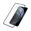 صورة بانزر قلاس  حماية شاشة للآيفون إكس/إكس إس/ 11 برو إطار أسود - شفاف