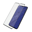 صورة بانزر قلاس حماية شاشة لهاتف هواوي ميت 20 إطار أسود - شفاف