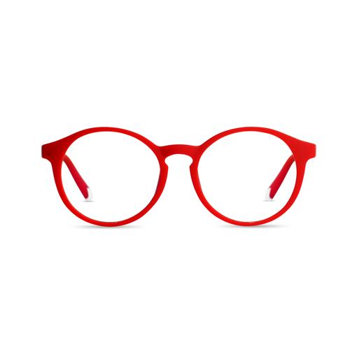 صورة بارنرنظارة للحمايه من أضرار الأشعة الزرقاء - احمر ياقوتى