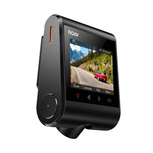 صورة روف داش كام سي 1 كاميرا للسياره - أسود