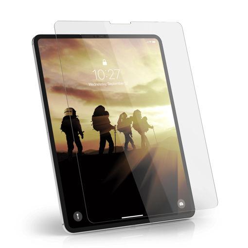 صورة يو أي جي حمايه شاشه للأيباد برو 12.9 إنش الإصدار الرابع  2020 - شفاف
