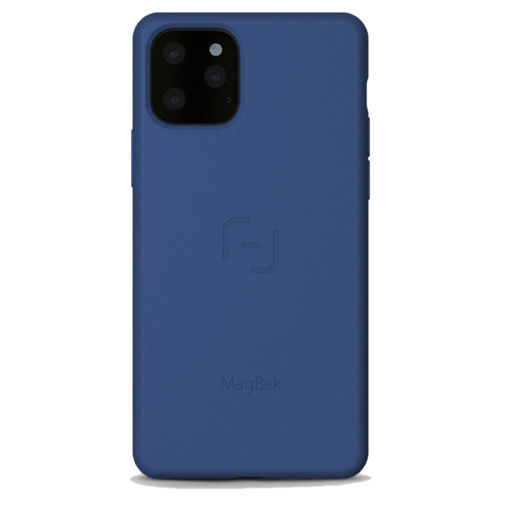صورة ماق باك - كفر للأيفون 11 برو ماكس - أزرق