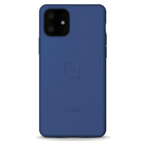 صورة ماق باك كفر للأيفون 11 - أزرق