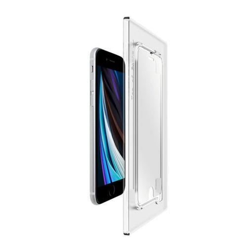 صورة توري حماية شاشة للأيفون إس إي 2020 - شفاف
