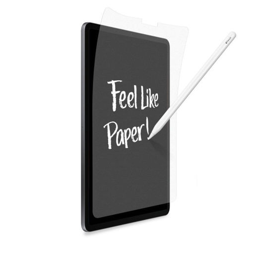 صورة توري حماية شاشة  تشبه ملمس الورق لأيباد برو 12.9 إنش 2020 - شفاف