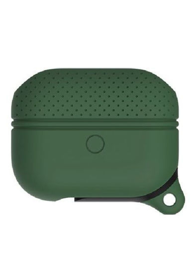 Picture of Tgvi's Silicone Protective Case for AirPods Pro - Dark Green