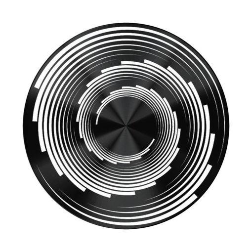 صورة بوب سوكيت بوب جريب مسكة للموبايل قابل للدوران - أسود