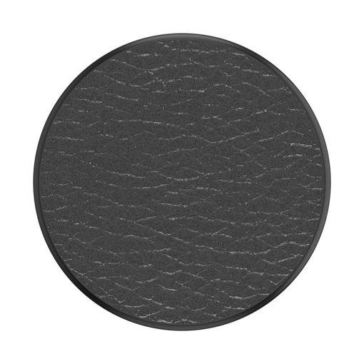 صورة بوب سوكيت بوب جريب مسكة للموبايل - جلد/أسود