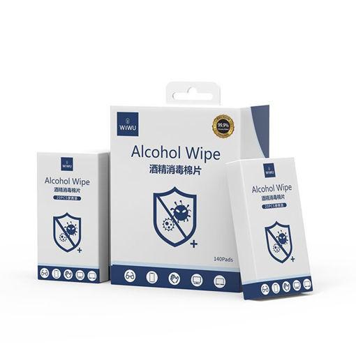صورة وي وو مناديل مبللة بالكحول لتنظيف الجروح وتعقيم الأجهزة