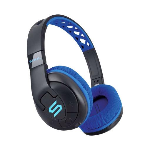 صورة سول  سماعه رأس لاسلكية  - ازرق