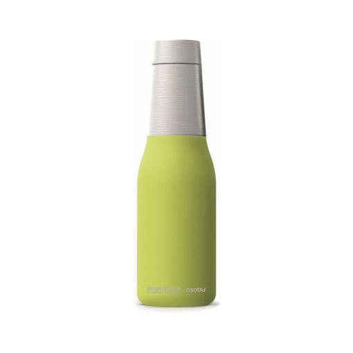 صورة أسوبو زجاجة لحفظ  درجة حرارة المشروبات - أخضر