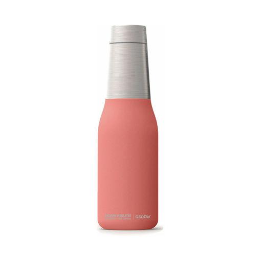 صورة أسوبو زجاجة لحفظ  درجة حرارة المشروبات - أحمر