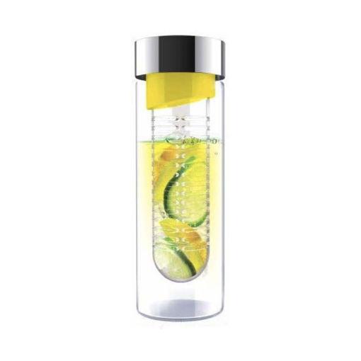 صورة أسوبو زجاجة لحفظ المياه - فضي/أصفر