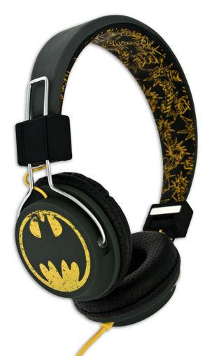 صورة أو تي إل باتمان  سماعة أطفال - أسود/أصفر