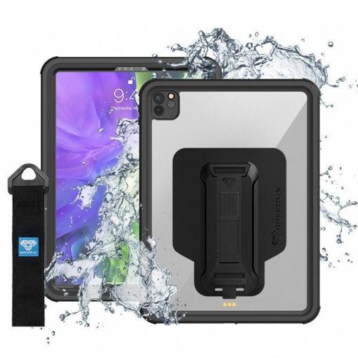 صورة أرمور إكس كفر مقاوم للماء للأيباد برو 12.9 إنش 2020 - أسود
