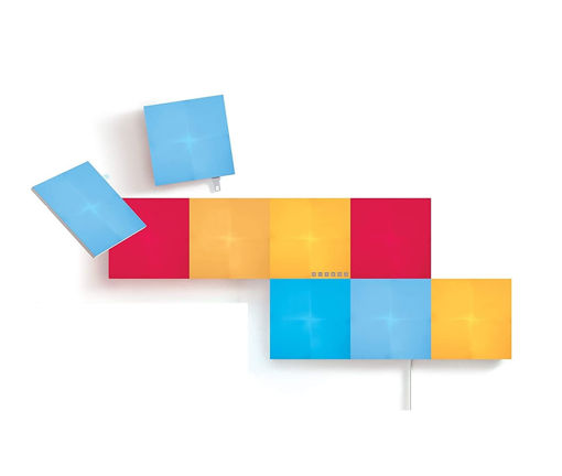 صورة نانوليف ديكور إضاءة 9 قطع تتفاعل مع الموسيقى - مربع