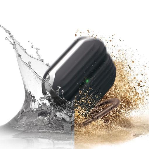 صورة إيلاقو كفر مقاوم للماء لسماعة أبل أيربودز برو - أسود