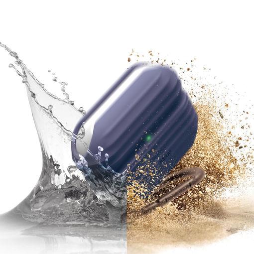 صورة إيلاقو كفر مقاوم للماء لسماعة أبل أيربودز برو - أزرق