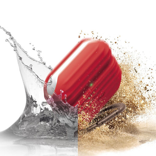 صورة إيلاقو كفر مقاوم للماء لسماعة أبل أيربودز برو - أحمر